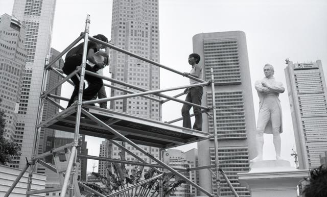 Lee Wen, Untitled: Raffles (2000)