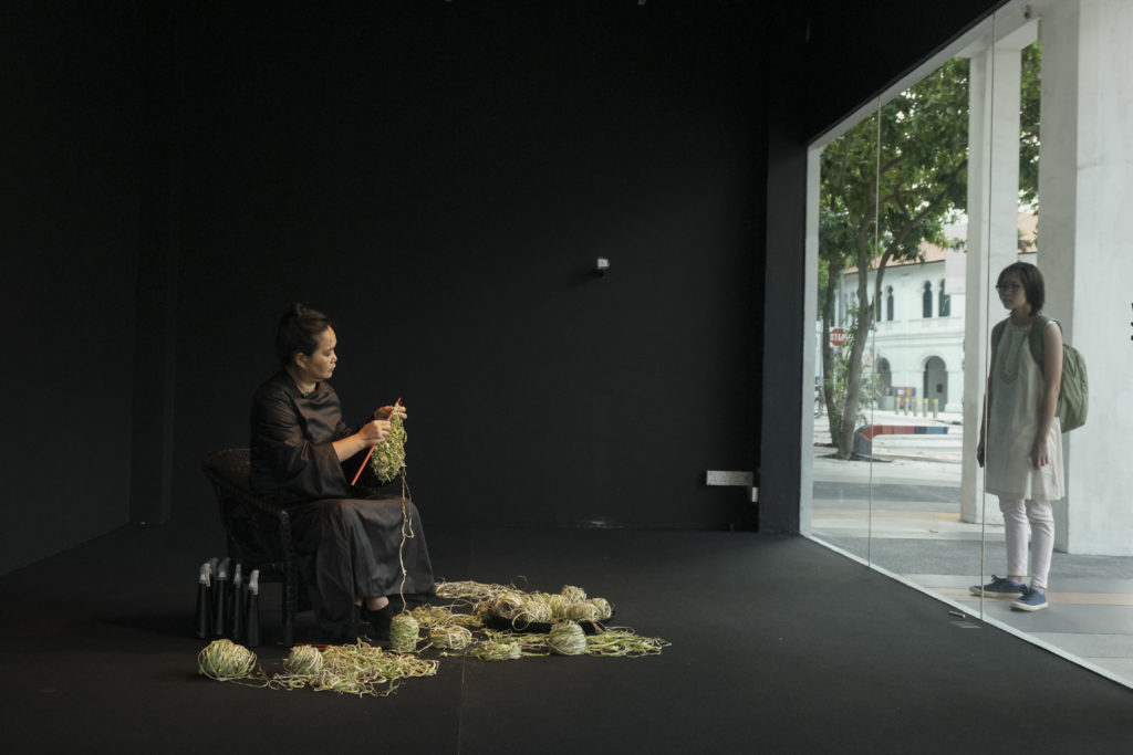 Chia Chuyia, Knitting the Future, (2015-2016) Image: Singapore Art Museum