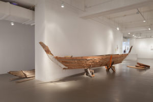 Dennis Tan, Pujangga (Kolek Sailboat). Wood. 2016. Artist Collection. Courtesy of NUS Museum