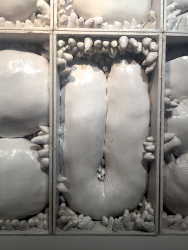 Figure 6. Yayoi Kusama, Left-over Snow in the Dream, 1982, mixed media, collection of Ota Fine Arts. (photo credit: Eva Wong Nava)