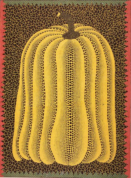 Figure 2. Yayoi Kusama, Pumpkin (1981), acrylic on canvas, 130 x 97 cm [©YAYOI KUSAMA]