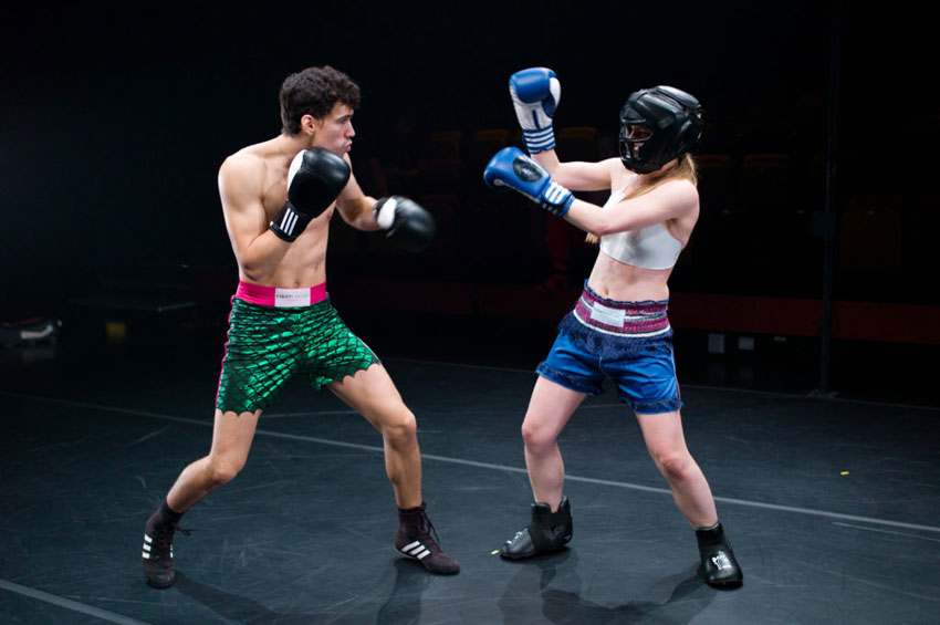 Esplanade, Singapore 2017 Fight Palast 6.1.2017. Photo by: Jamie Chan for M1 Fringe Festival