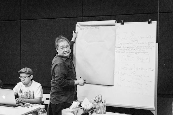 """Work in process documentation of """"Gitanjali"""" (2014). Photo: Tan Ngiap Heng"""