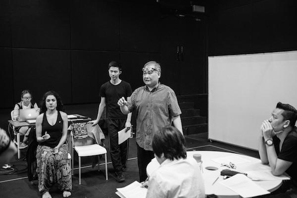 "Work in process documentation of ""Manifesto"" (2016). Photo: Tan Ngiap Heng"