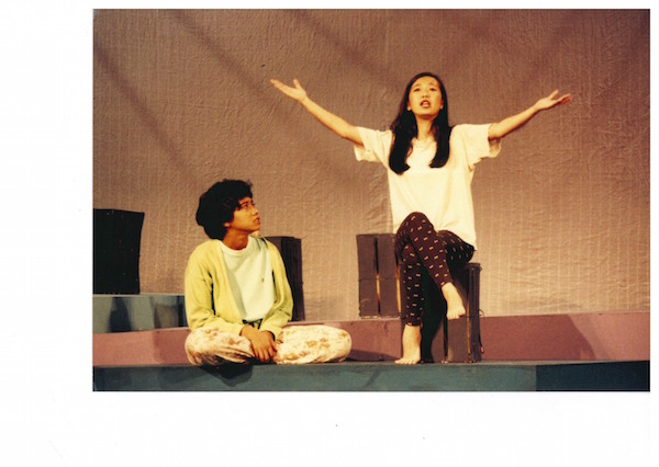 Saloma (Sakinah Dollah, left) and Emily, 1993. Photo: The Necessary Stage