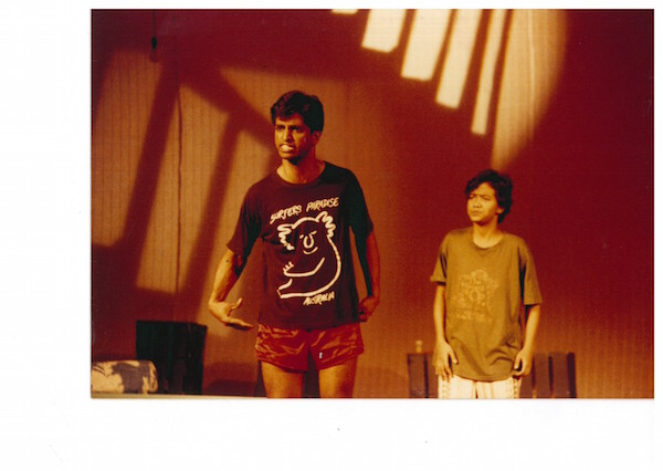 Abdul Latiff Abdullah as Vinod and Sakinah Dollah as Saloma, 1993. Photo: The Necessary Stage