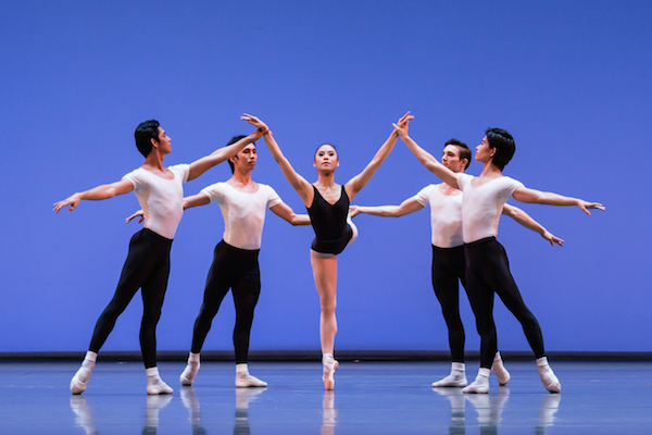 """The Four Temperaments"" by George Balanchine. Photo: Bernie Ng"