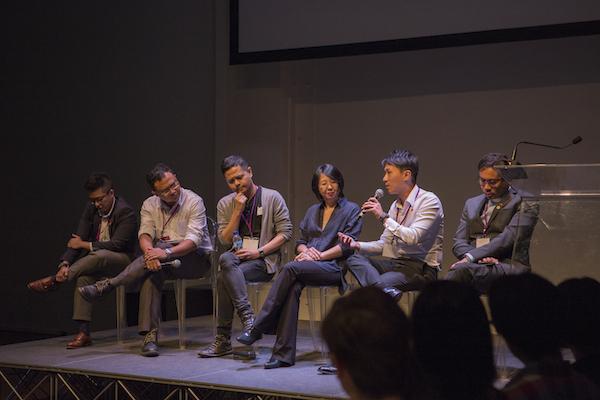 Commentators L-R: Dr Ad Maulod, Imran Taib, Alfian Sa'at, June Yap, Choo Zhen Xi, Rev. Miak Siew
