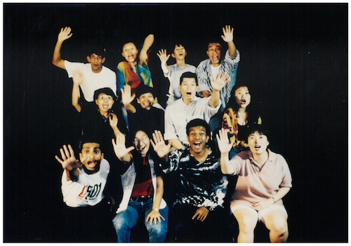 The double-bill of MCP and Mixed Blessings, both written by Haresh Sharma, was the inaugural performance of Forum Theatre in Singapore. Both Alvin Tan and Josephine Peters were the jokers for the performances. Image credit: The Necessary Stage