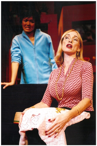 Freak Sons and Daughters (2001) was written and directed by Natalie Hennedige, and features a cast including Christina Sergeant, Mohan Sachdev, Serena Ho, Raslyn Rasiah, Paul Falzon. Image credit: The Necessary Stage