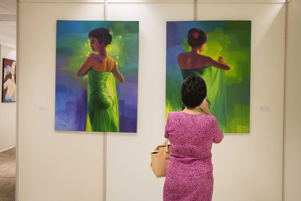 Myanmar art at Yangon Art Expo