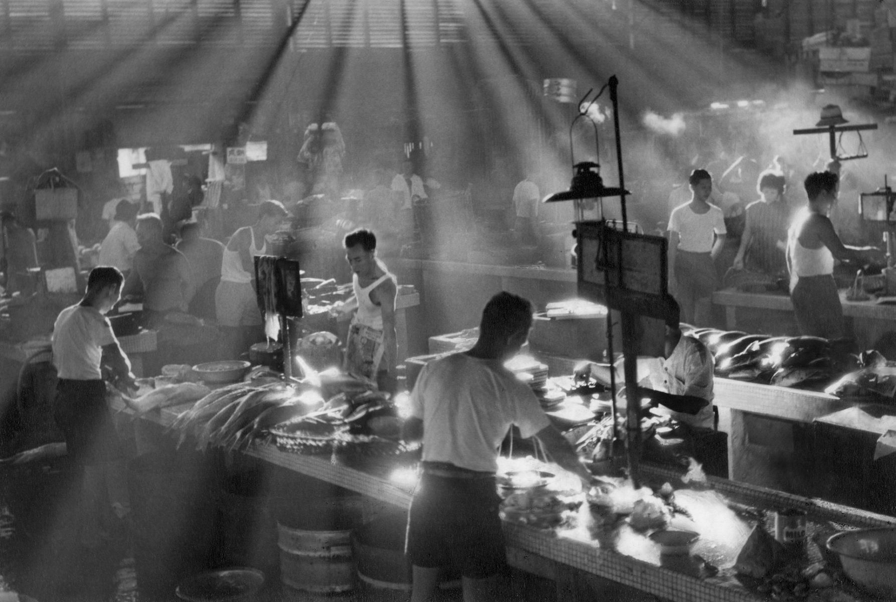 "Lui Hock Seng ""Ellenborough Market, Clarke Quay"", circa 1960 - 1965"