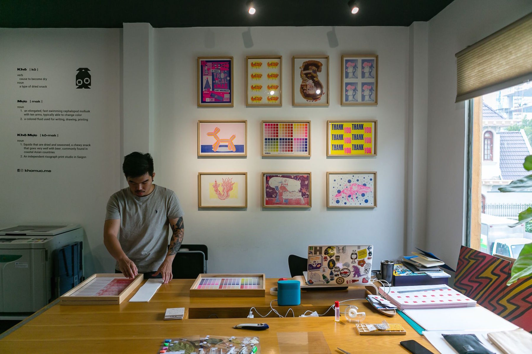 A Heaven for Eco-Friendly risograph Prints