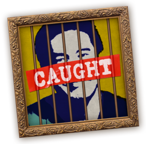 Publicity image for Caught by Singapore Repertory Theatre
