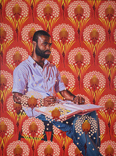 Kehinde Wiley's Saint Gregory the Great in the IMPART Collectors' Show 2020