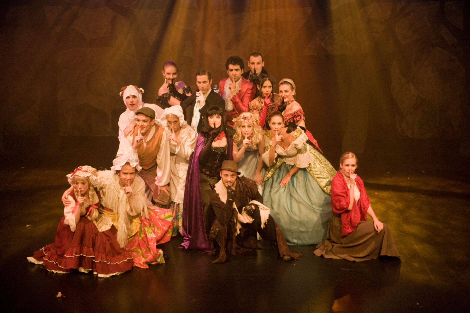 Into The Woods by Musical Theatre students in 2008.